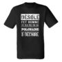 Tee-shirts humoristiques (homme)