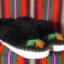 Pantoufle fourrée hiver - taille 40
